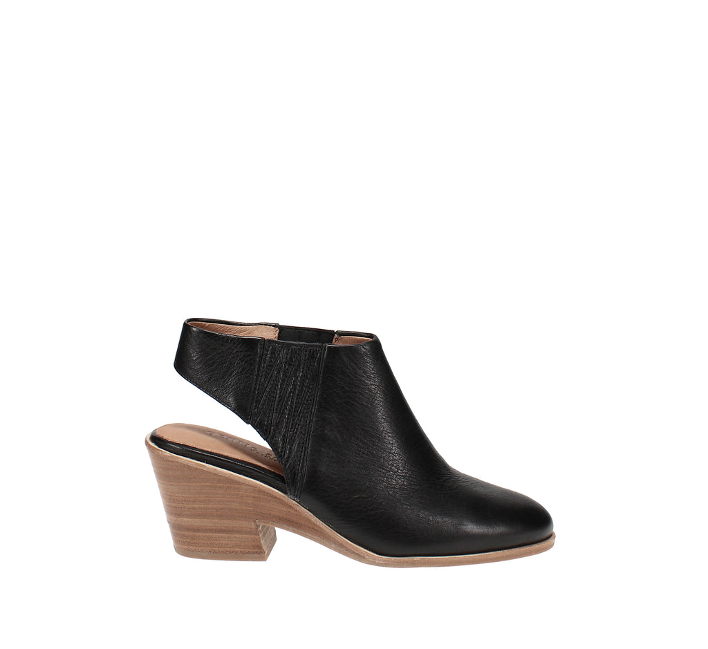Yieldings Discount Shoes Store's Blaise Slingback Booties by Gentle Souls By Kenneth Cole in Black