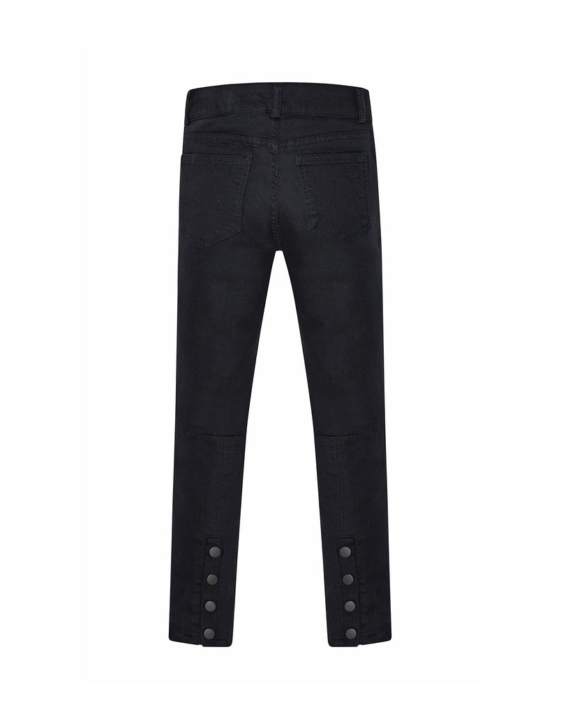 Yieldings Discount Clothing Store's Chloe - Skinny by DL1961 in Blue Velvet