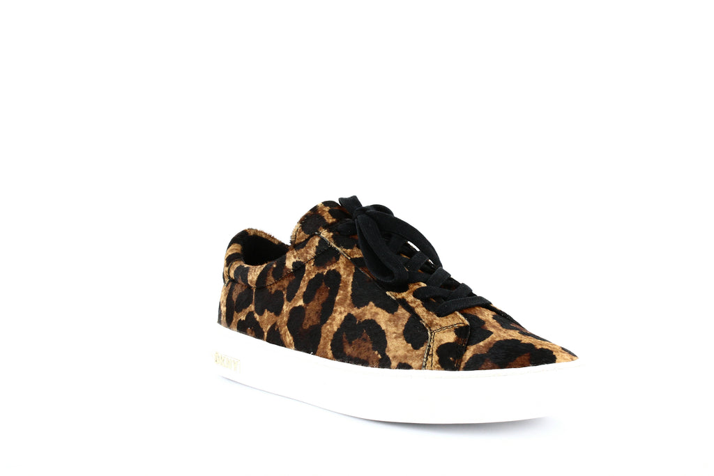 Yieldings Discount Shoes Store's Court Low-Top Sneakers by DKNY in Leopard