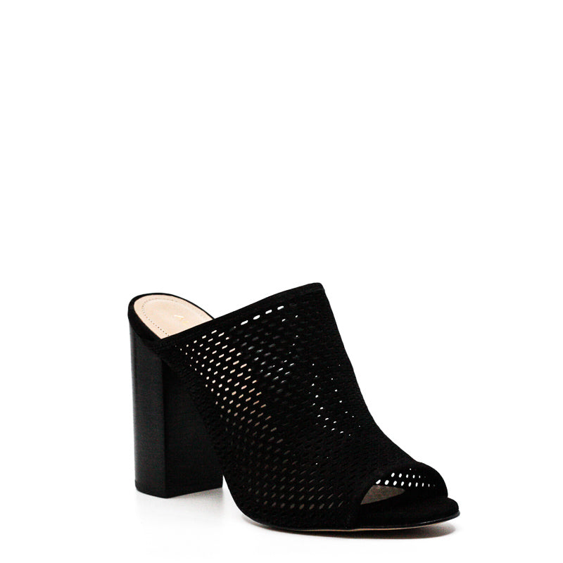Yieldings Discount Shoes Store's Thiasa Block Heels by Aldo in Black
