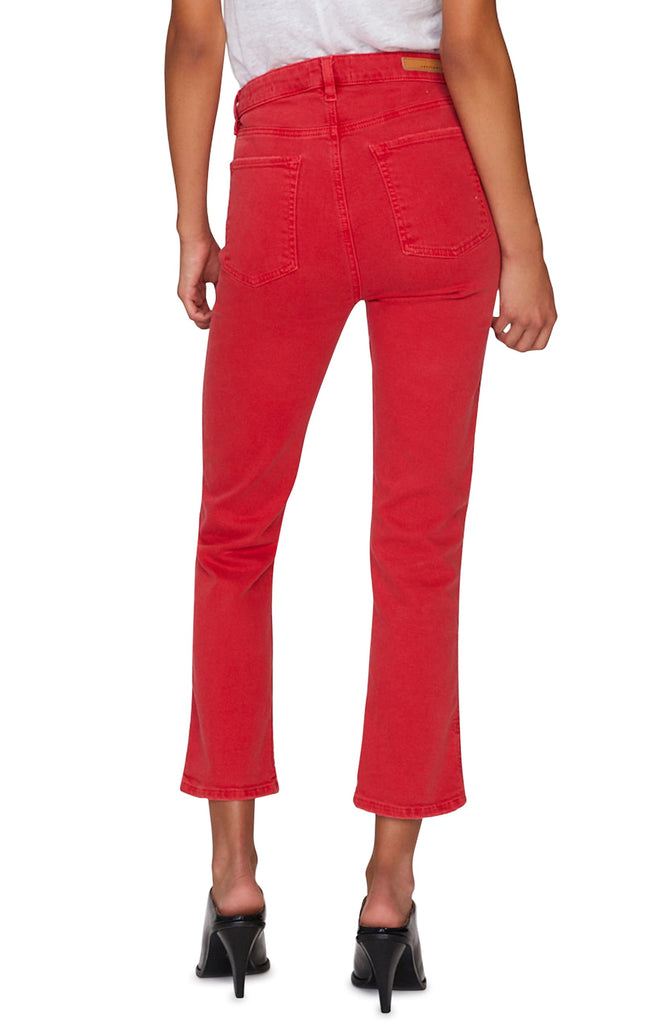 Yieldings Discount Clothing Store's High-Rise Ankle Jeans by Sanctuary in California Poppy
