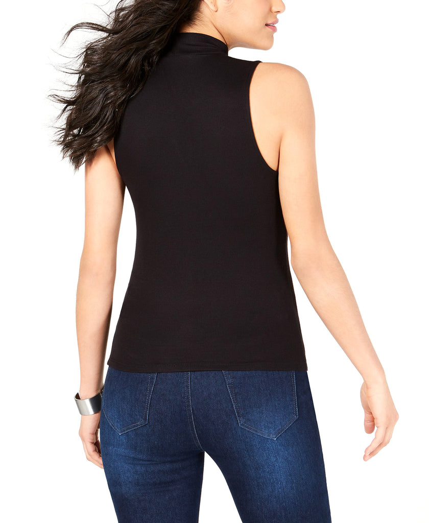 Yieldings Discount Clothing Store's Kendra Embellished Top by Guess in Jet Black