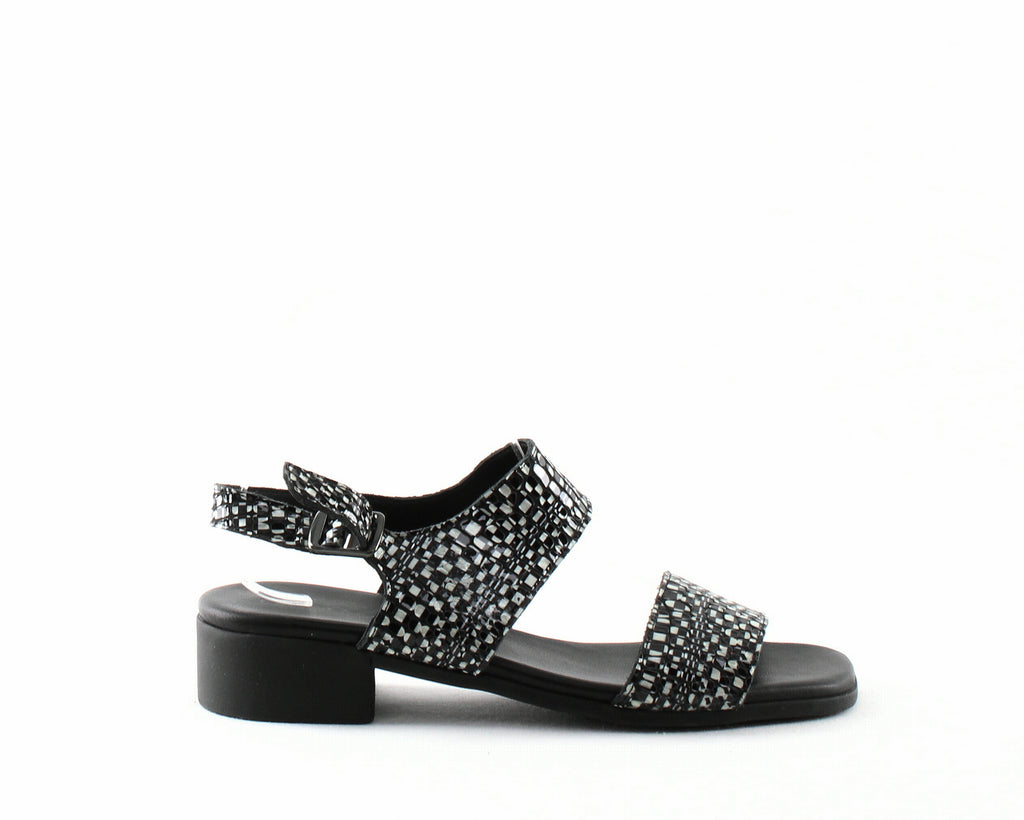 Yieldings Discount Shoes Store's Tinaka Sandals by Arche in Granite/Noir