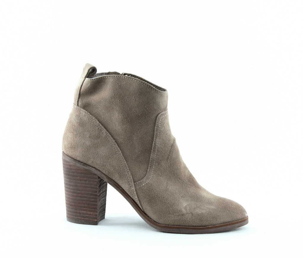 Yieldings Discount Shoes Store's Saint Suede Boots by Dolce Vita in Dark Taupe
