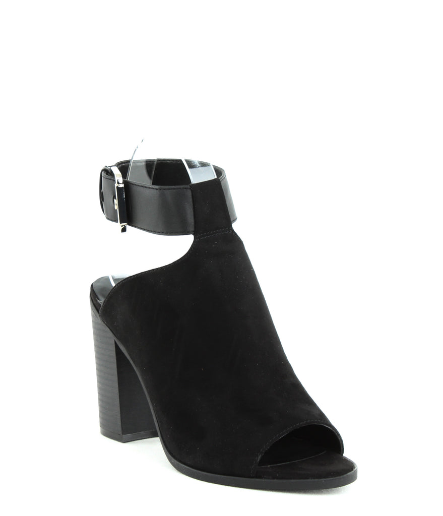 Yieldings Discount Shoes Store's Mashi Block Heels by Indigo Rd. in Black