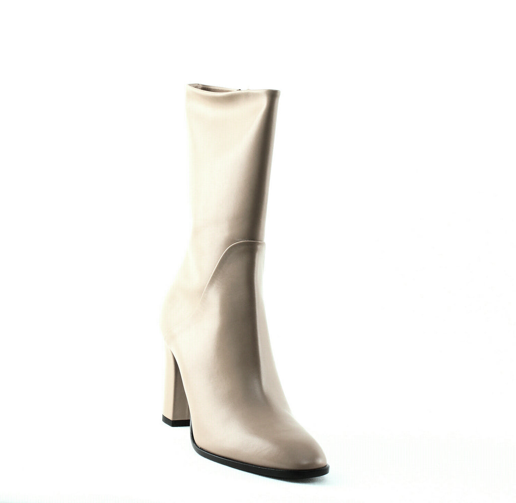 Yieldings Discount Shoes Store's Adrinna Mid Calf Boots by Via Spiga in Desert