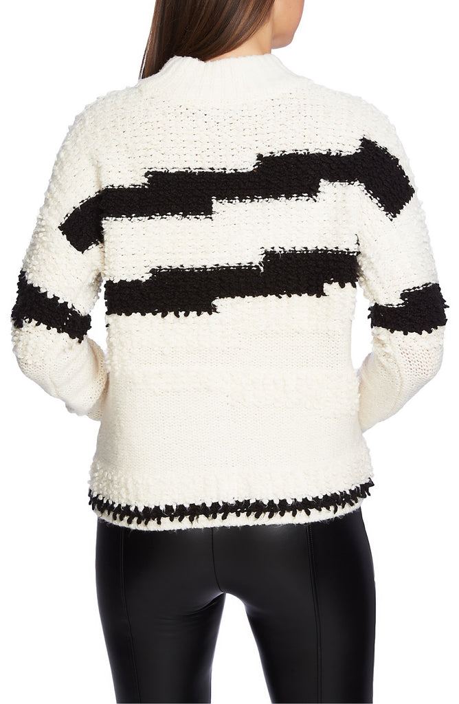Yieldings Discount Clothing Store's Crew Neck Sweater by 1.State in Antique White