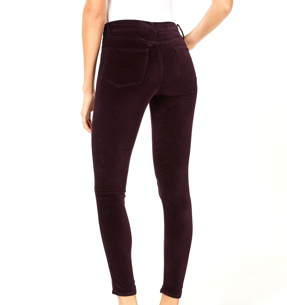 Yieldings Discount Clothing Store's Barbara High-Waist Skinny Jeans by Hudson in Prism