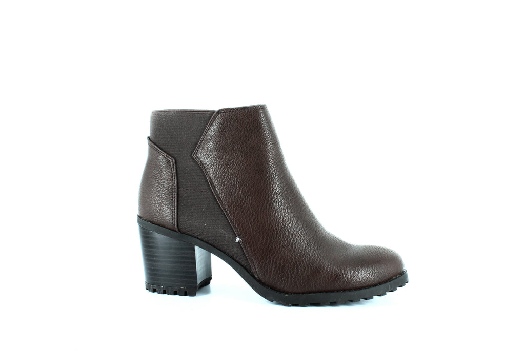 Yieldings Discount Shoes Store's Inclination Block Heel Boots by Aerosoles in Brown