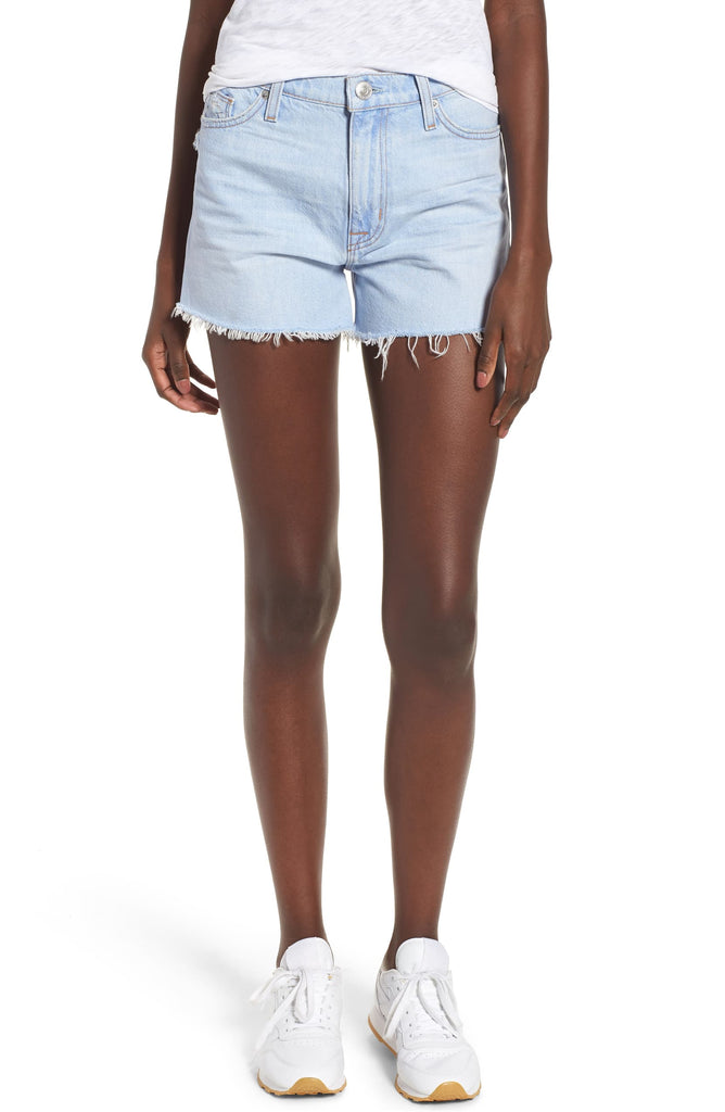 Yieldings Discount Clothing Store's Sade Cut Off Jean Shorts by Hudson in Treasure