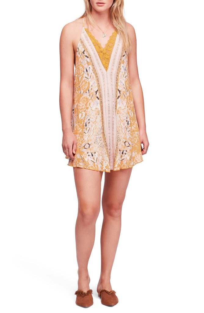 Free People | Love Bird Lace Trim Dress