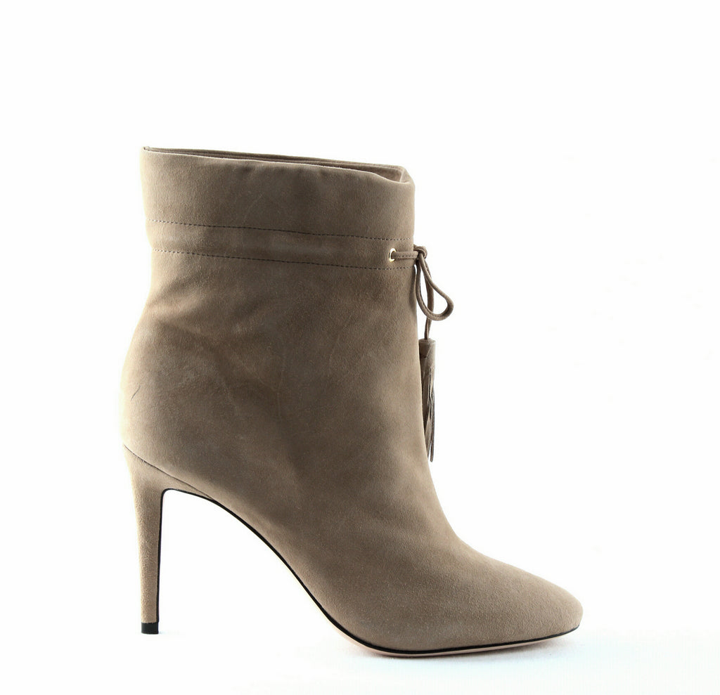 Yieldings Discount Shoes Store's Dillane High-Heel Boots by Kate Spade in Dark Natural