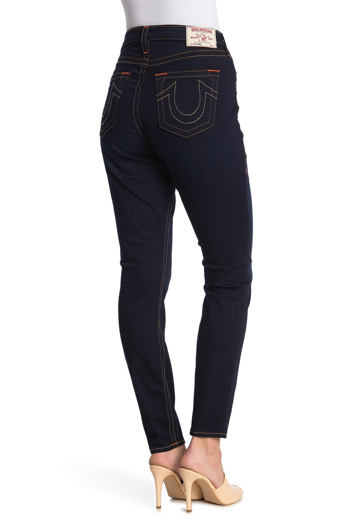 Yieldings Discount Clothing Store's Curvy Skinny Jeans by True Religion in Blue