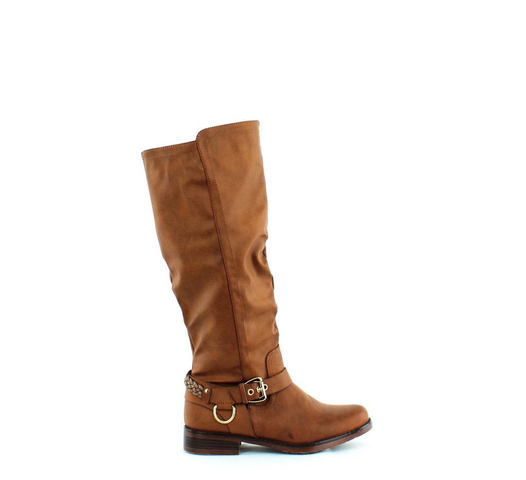Yieldings Discount Shoes Store's Mauricia Boots by XOXO in Tan