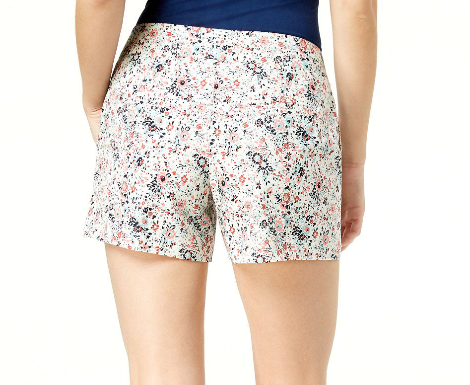 Yieldings Discount Clothing Store's item Short Umbrella Print Shorts by Maison Jules in Bright White