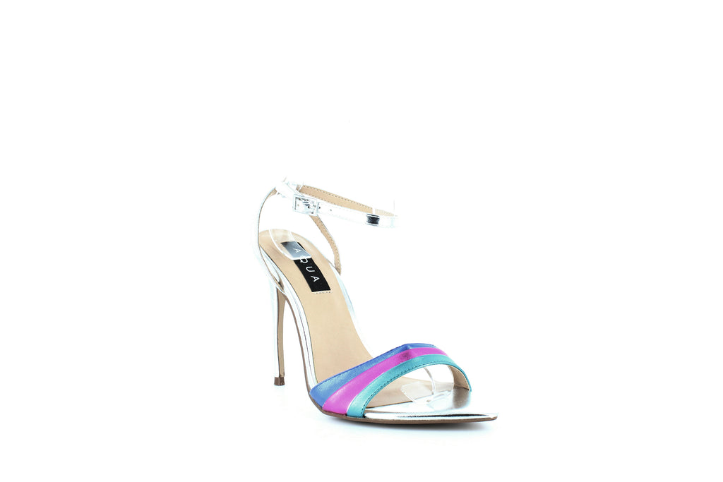 Yieldings Discount Shoes Store's Kiki Rainbow High-Heel Sandals by Aqua in Rainbow