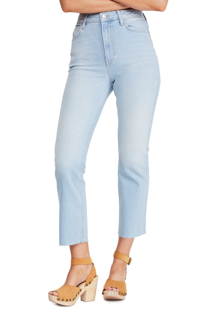 We The Free By Free People | High-Rise Raw-Hem Capri Jeans