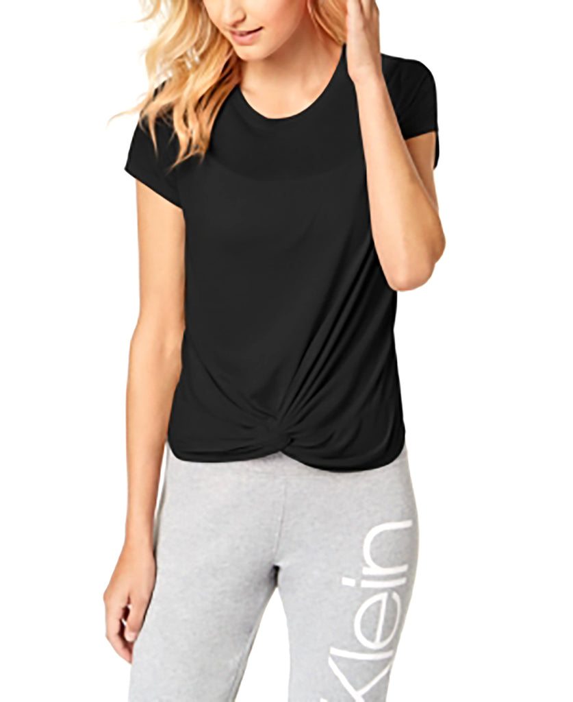 Calvin Klein | Performance Twist-Front Top