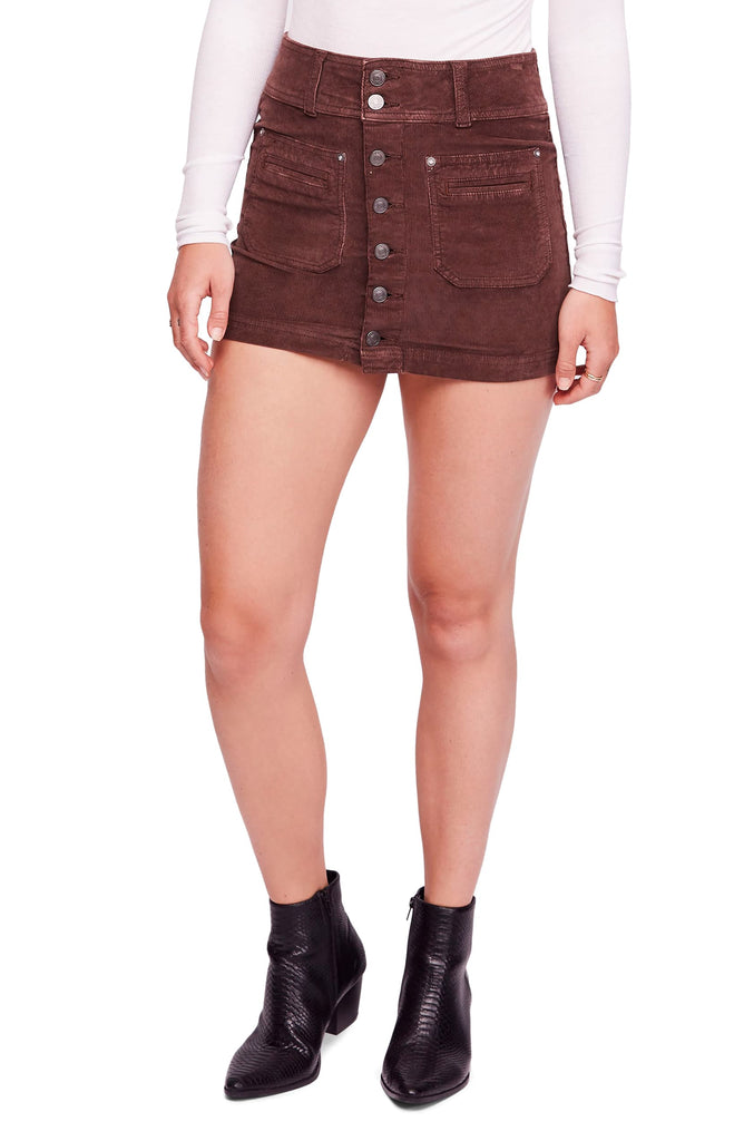Free People | Joani Corduroy Mini Skirt