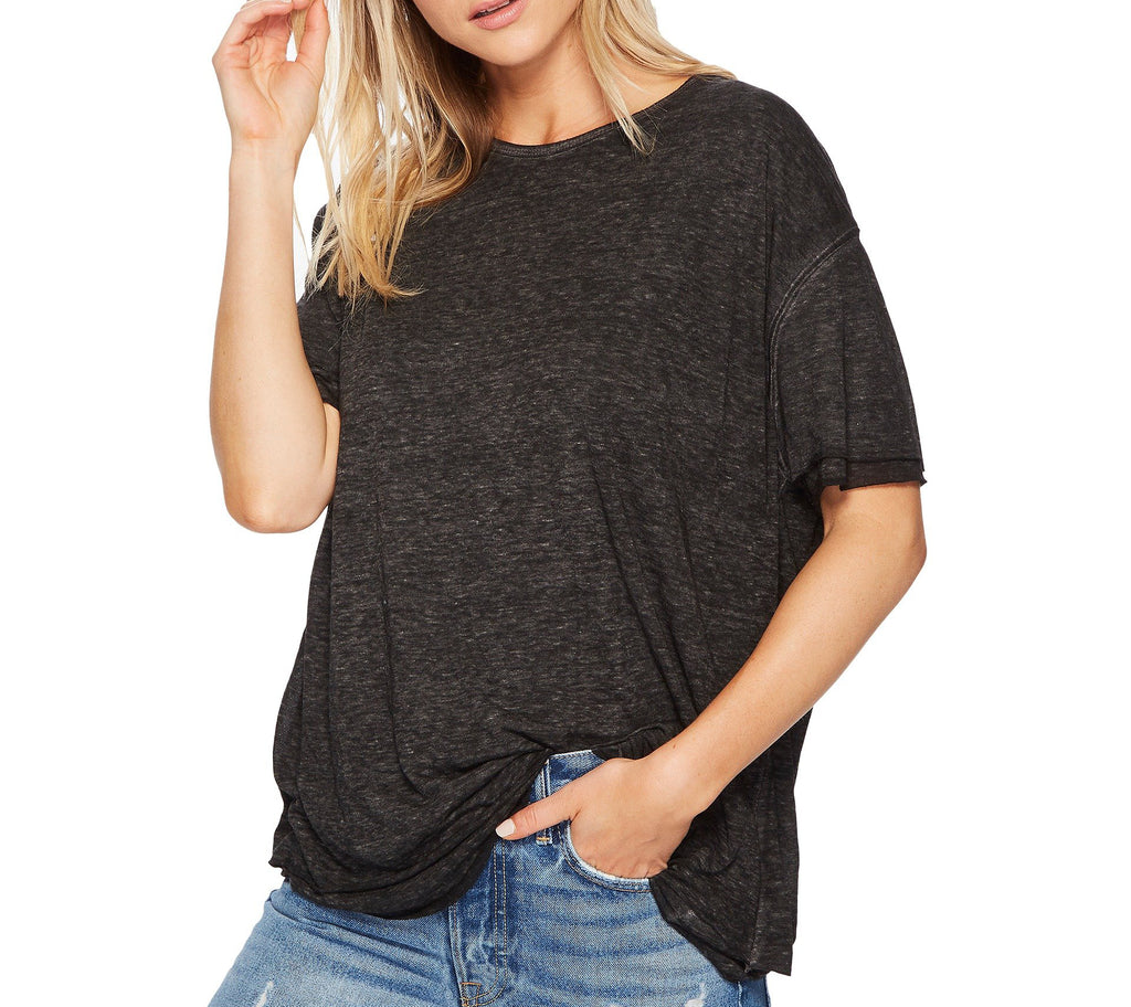 Yieldings Discount Clothing Store's Cloud 9 T-Shirt by Free People in Carbon