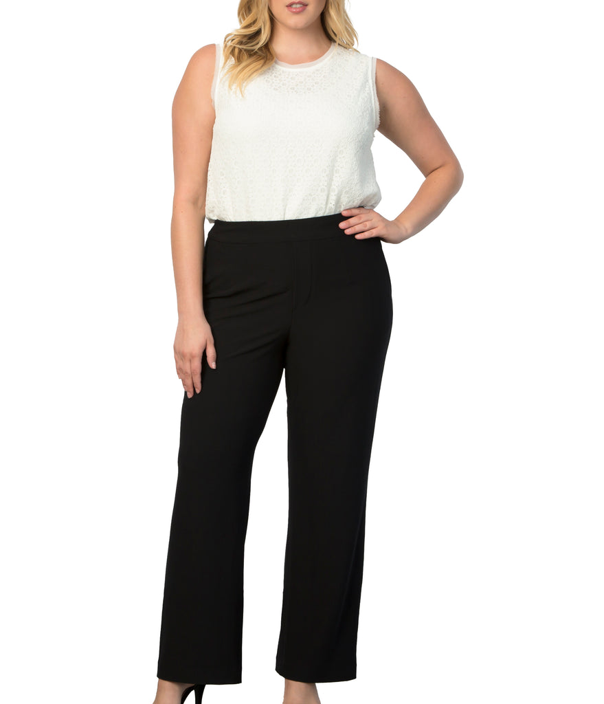 Yieldings Discount Clothing Store's Leigh Pants by Lysse in Black