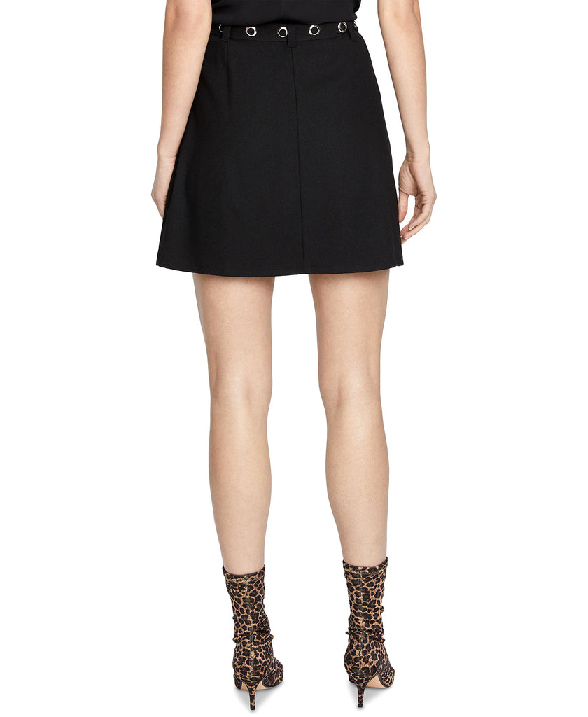 Yieldings Discount Clothing Store's Zane Mini Skirt by RACHEL Rachel Roy in Black