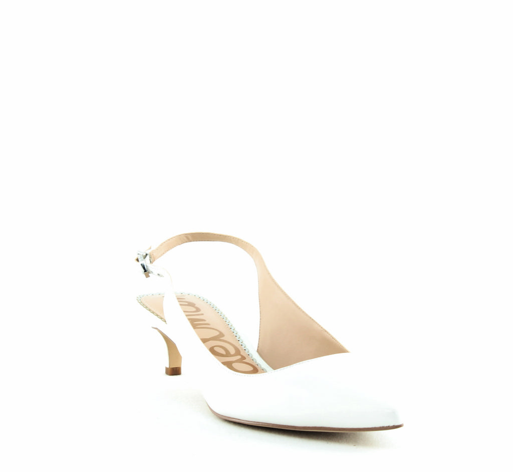 Yieldings Discount Shoes Store's Ludlow Pumps by Sam Edelman in White