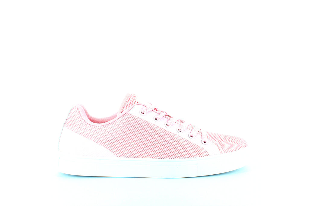 Yieldings Discount Shoes Store's Amalfi Sneakers by Fila in Chalk Pink/White