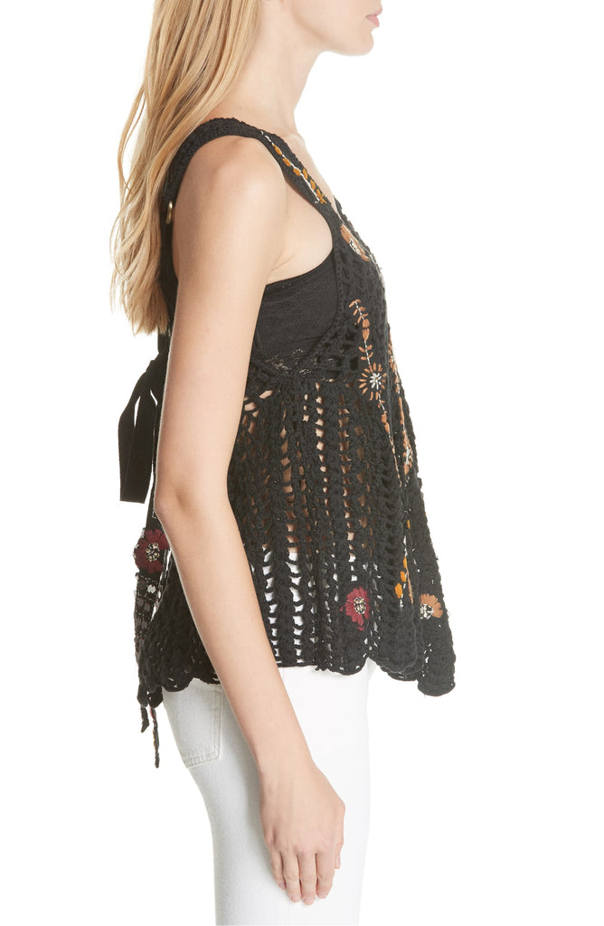 Free People | Last Rose Crocheted Tank Top