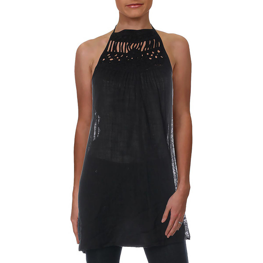 Yieldings Discount Clothing Store's Macrame Dress Cover-Up by Ralph Lauren in Black
