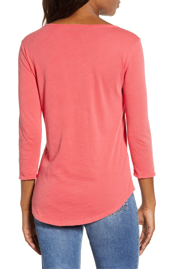 Lucky Brand | 3/4-Sleeve Graphic T-Shirt