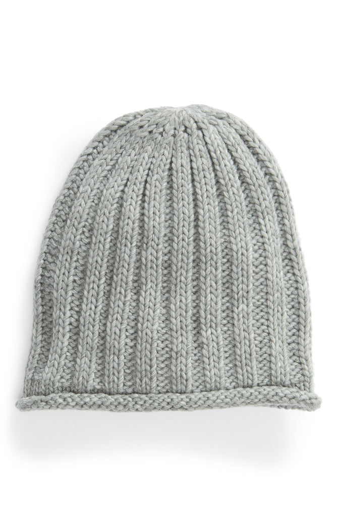 Yieldings Discount Accessories Store's Rory Rib Knit Beanie by Free People in Grey