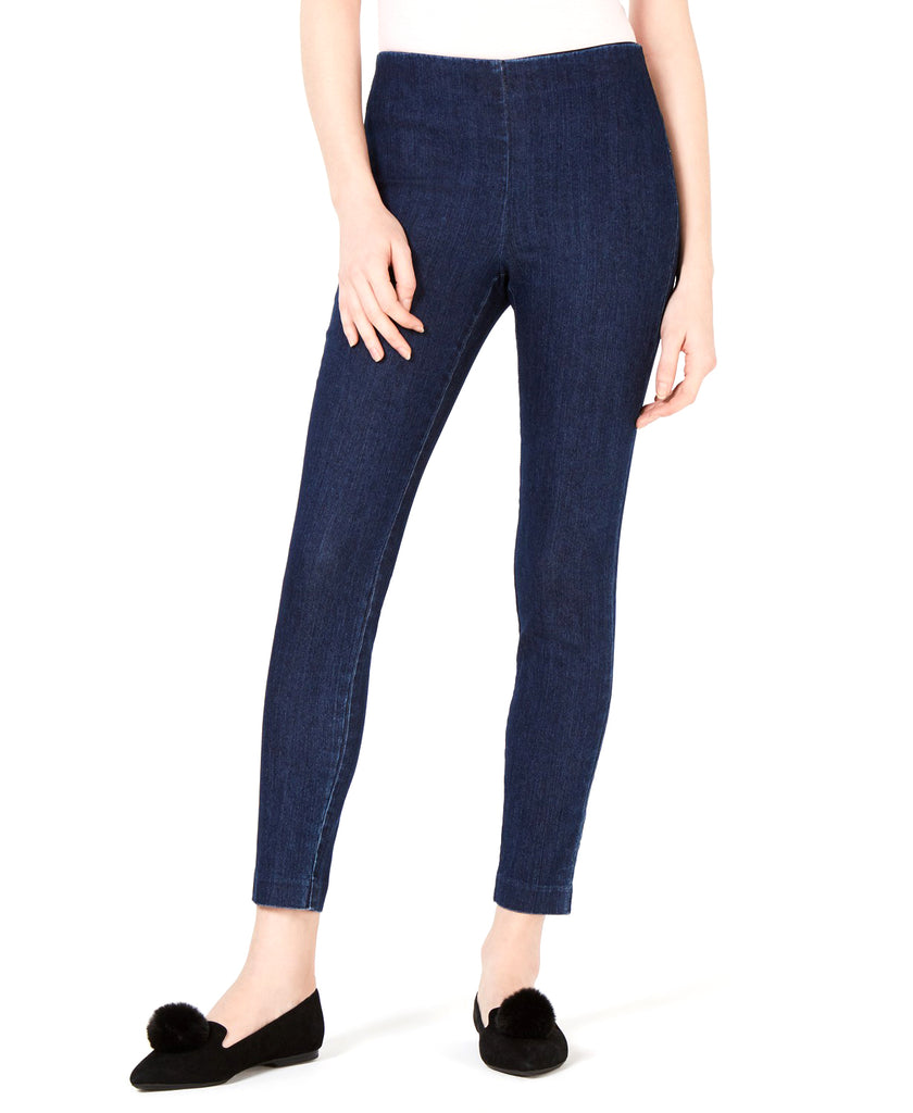 Yieldings Discount Clothing Store's Pull-on Jeggings by Maison Jules in Indigo Wash