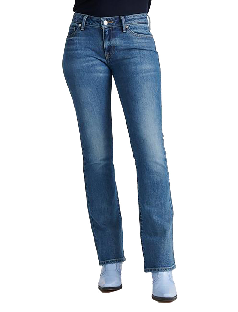 Yieldings Discount Clothing Store's Lolita Bootcut Jeans by Lucky Brand in Amazonite