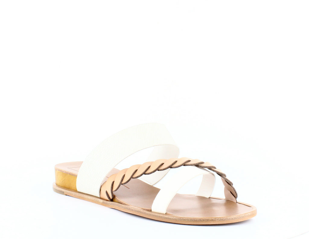 Yieldings Discount Shoes Store's Penelope Flat Sandals by Dolce Vita in Nude Multi