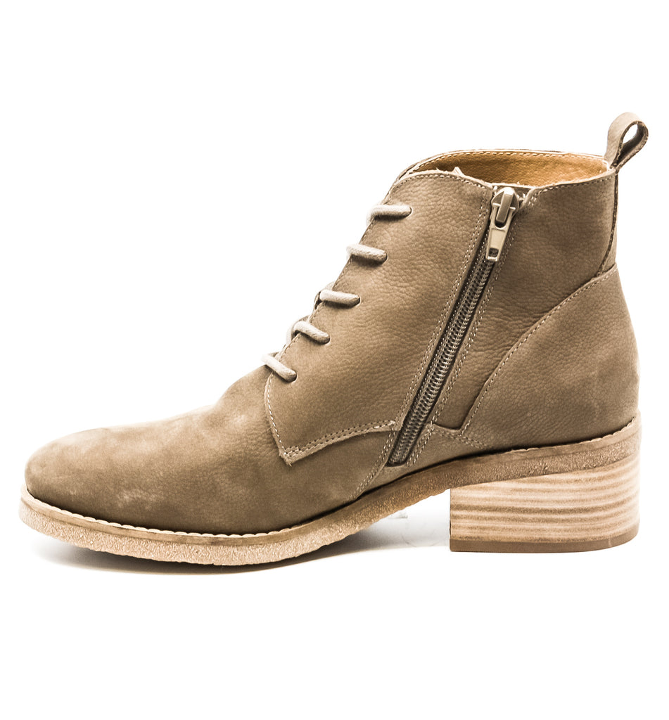 Yieldings Discount Shoes Store's Tamela Block Heel Boots by Lucky Brand in Brindle