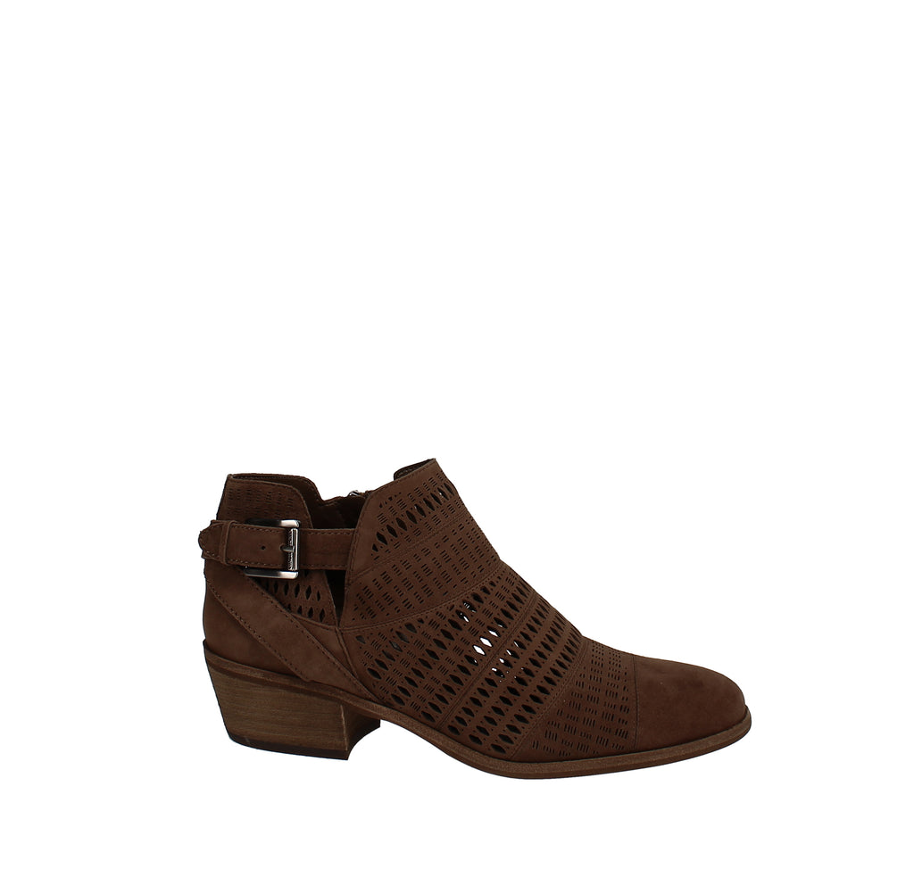 Yieldings Discount Shoes Store's Paavani Booties by Vince Camuto in Brown Moss
