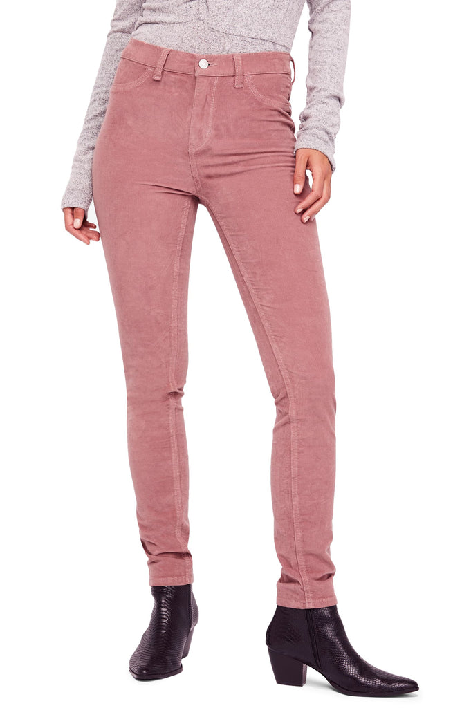 Free People | High Rise Long and Lean Corduroy Pants