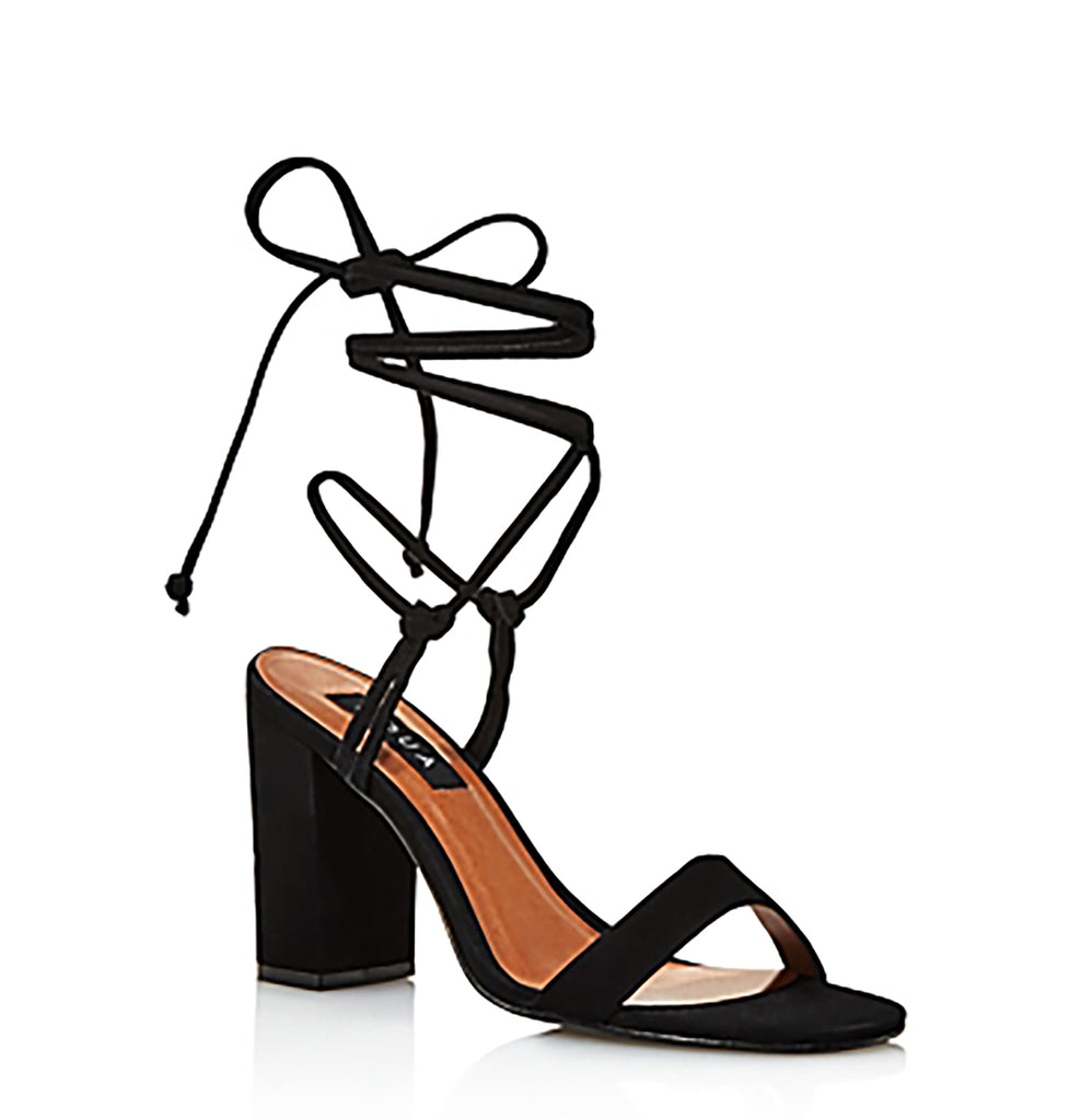 Yieldings Discount Shoes Store's Kenzo Sandals by Aqua in Black