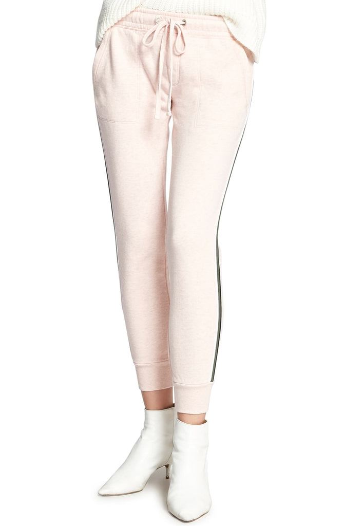 Yieldings Discount Clothing Store's Peace Brigade Joggers by Sanctuary in Heather Pink Fizz
