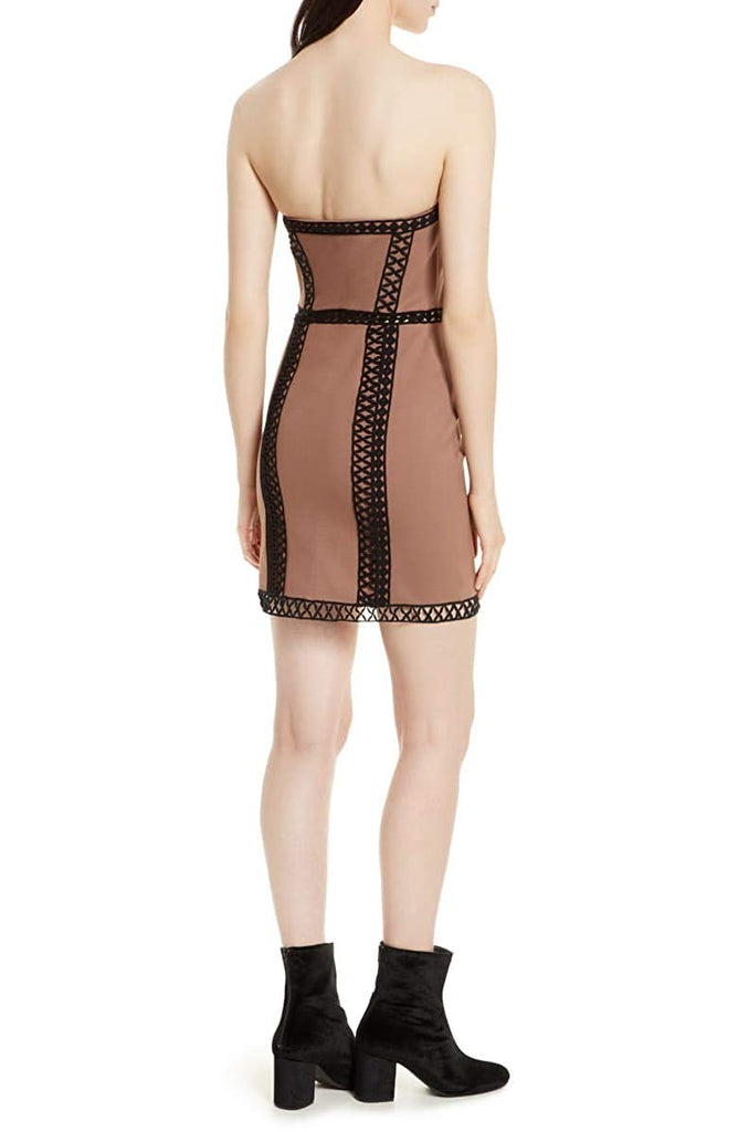 Yieldings Discount Clothing Store's City Lights Tube Dress by Free People in Mink