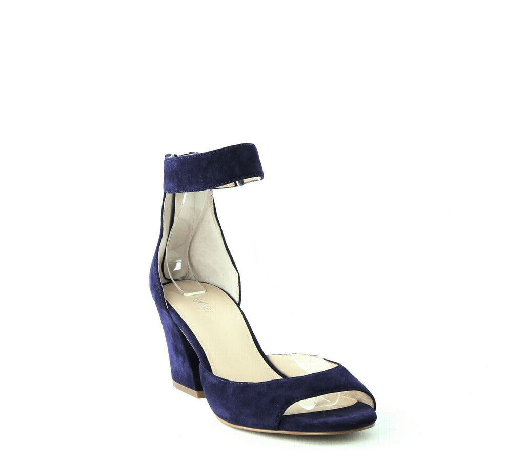 Yieldings Discount Shoes Store's Pilar Suede Sandals by Botkier in Ultramarine
