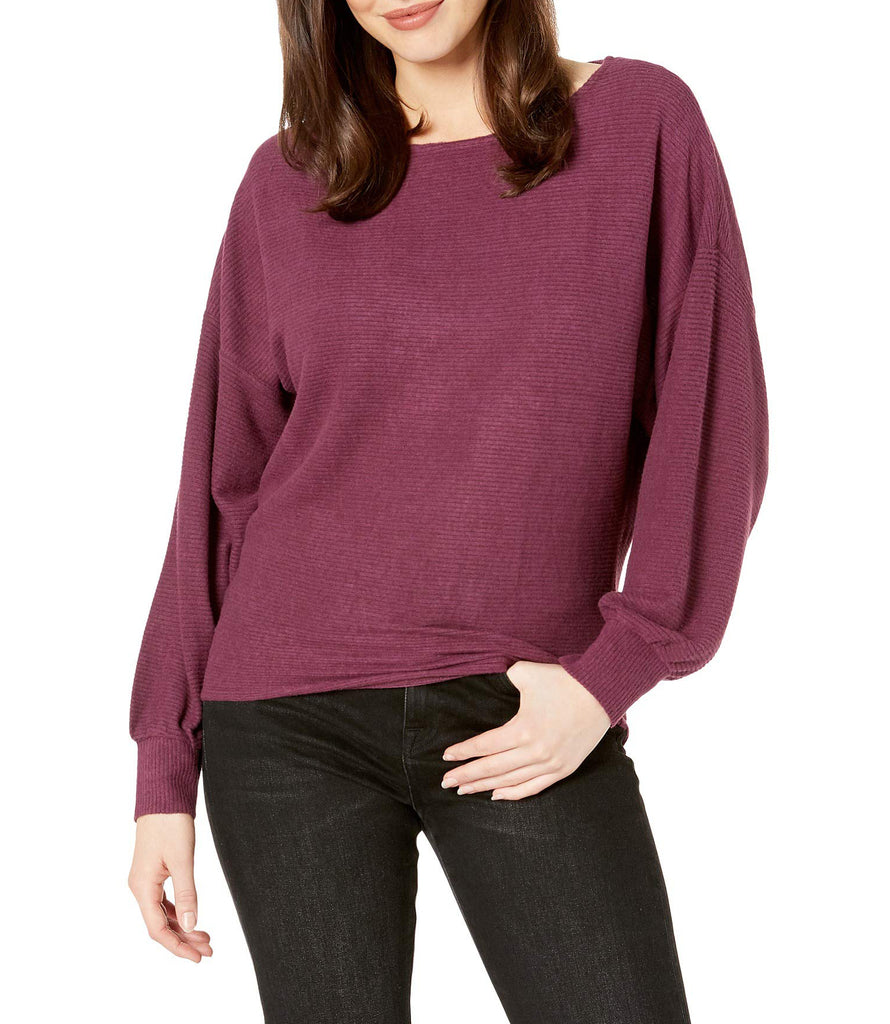 Lucky Brand | Ribbed Dolman Pullover Top