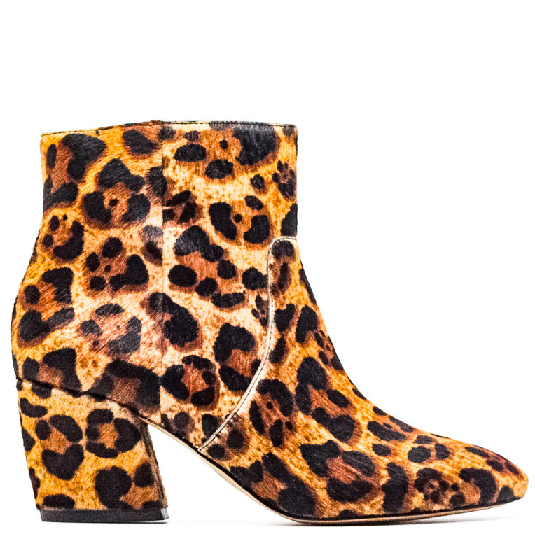 Yieldings Discount Shoes Store's Allie Block Heel Boots by Botkier in Leopard