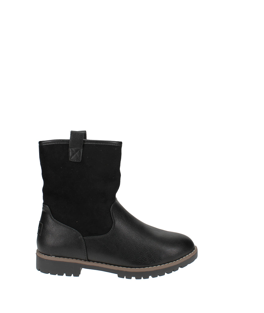 Yieldings Discount Shoes Store's Bosun Mid-Shaft Boot by Nautica in Black