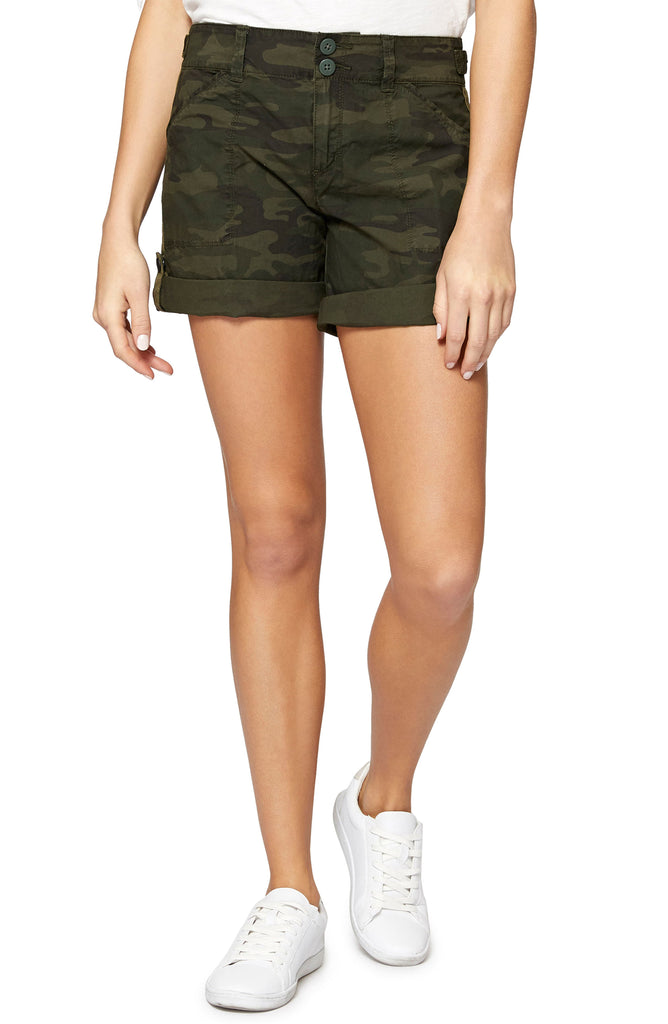 Yieldings Discount Clothing Store's Wanderer Shorts by Sanctuary in Mother Nature Camo