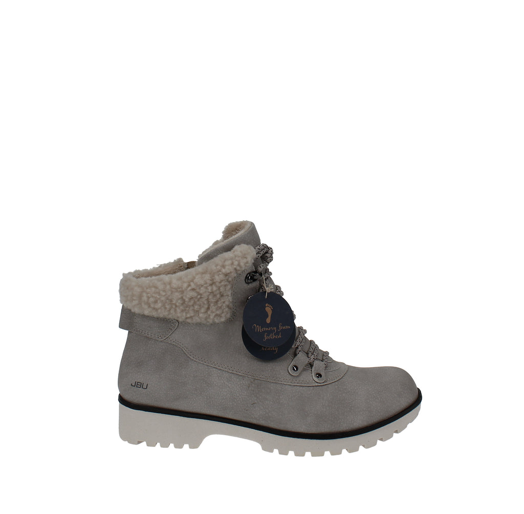 Yieldings Discount Shoes Store's Redrock Hiking Booties by JBU By Jambu in Stone White