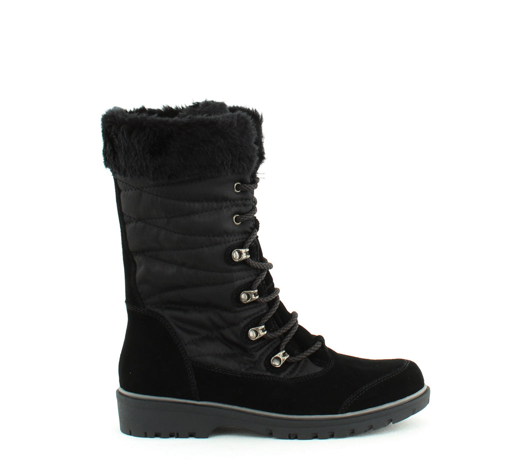 Baretraps | Satin Lace-Up Cold Weather Boot