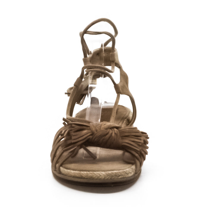 Yieldings Discount Shoes Store's Flowerpot Sandals by Stuart Weitzman in Cashew