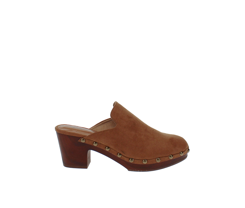 Yieldings Discount Shoes Store's Trystan Slide Mules by Style & Co in Chestnut